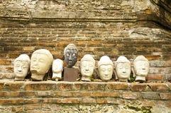 buddha głowy Fotografia Stock