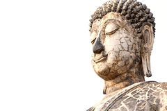 buddha gammal staty Arkivfoto