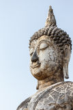 buddha gammal staty Arkivbild