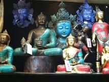 Buddha, Ganesh, Tara. This is an image of Budhas, Ganesh and Tara Stock Image