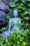 Buddha in the Garden Stock Photo