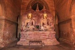 Buddha gautama statues the pagoda Royalty Free Stock Image
