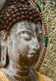 Buddha-Gesicht, Stockfoto