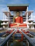 Buddha gigante al tempiale di Matara Immagini Stock