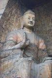 Buddha gigante en cueva Fotos de archivo