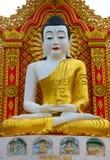 Buddha of Global Vipassana Pagoda. Main Buddha statue inside Vipassana center Stock Photos