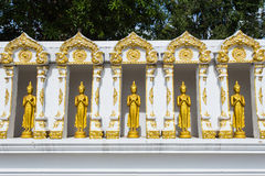 Buddha gold statue. In Chiang mai , Thailand Royalty Free Stock Images