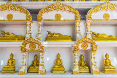 Buddha gold statue. In Chiang mai , Thailand Royalty Free Stock Image