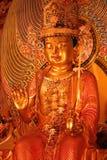 Buddha gold statue Stock Photos
