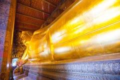 Buddha gold statue in Wat Pho, Bangkok Royalty Free Stock Image