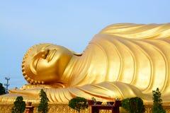Buddha-Gold in Thailand Lizenzfreies Stockbild