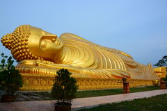 Buddha-Gold in Thailand Stockbilder