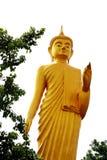 Buddha golden Lizenzfreie Stockbilder