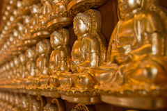 Buddha Golden statue Royalty Free Stock Photo