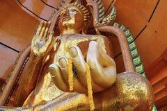 Buddha golden statue Stock Photos