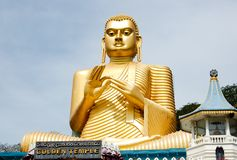 Buddha - the golden temple royalty free stock photo