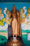 Buddha-Goldstatue in Matara, Sri Lanka Stockfoto