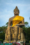 Buddha. Gorgeous Is respected by the people in Thailand Royalty Free Stock Image