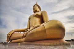Buddha grande Foto de Stock Royalty Free