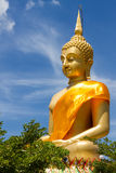 Buddha grande com bluesky Foto de Stock Royalty Free