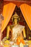 Buddha grande de oro Foto de archivo libre de regalías