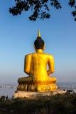 Buddha grande de oro Fotografía de archivo