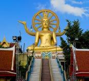Buddha grande no console do samui, Tailândia Imagem de Stock
