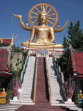 Buddha grande, Tailândia Imagens de Stock