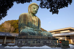 Buddha. Great Buddha of Kamakura, Japan Stock Images