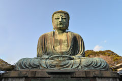 Buddha. Great Buddha of Kamakura, Japan Royalty Free Stock Photo
