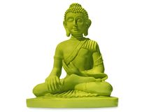 buddha green Arkivbild