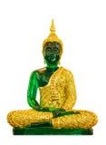 buddha green Royaltyfri Foto