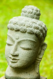 buddha green Royaltyfria Bilder