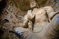 buddha grottoes Arkivbilder