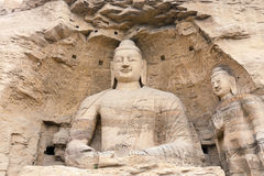 buddha grottoes Royaltyfria Bilder