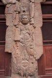 Buddha Grottoes in Tianshui Maijishan seven temples on the door Stock Images