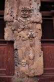 Buddha Grottoes in Tianshui Maijishan seven temples on the door Royalty Free Stock Photos