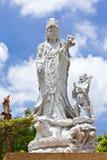 buddha guan statyyin Fotografering för Bildbyråer