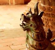 Buddha guard door art Stock Images