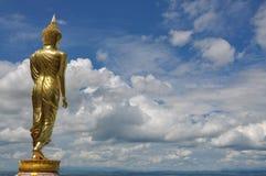 buddha guld Arkivfoton