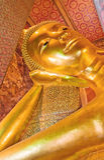 buddha guld- ligga Royaltyfria Foton