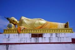 buddha guld- sova Arkivfoto