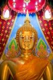 buddha guld- staty Royaltyfri Fotografi