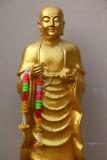 buddha guld- staty thailand Arkivfoton