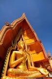 buddha guld- stort Arkivbilder