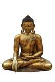 buddha guldstaty royaltyfri foto