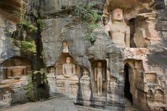 Buddha - Gwalior - la India Jain Imagen de archivo libre de regalías