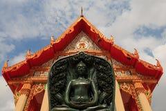 Buddha ha fatto da giada Immagine Stock