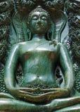Buddha ha fatto da giada Fotografia Stock Libera da Diritti