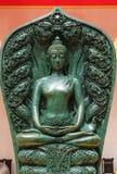 Buddha ha fatto da giada Immagini Stock Libere da Diritti